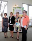2016 IWD, PE Marg with Rebecca Graham, President Jayne and Pam Makin Young Carer's